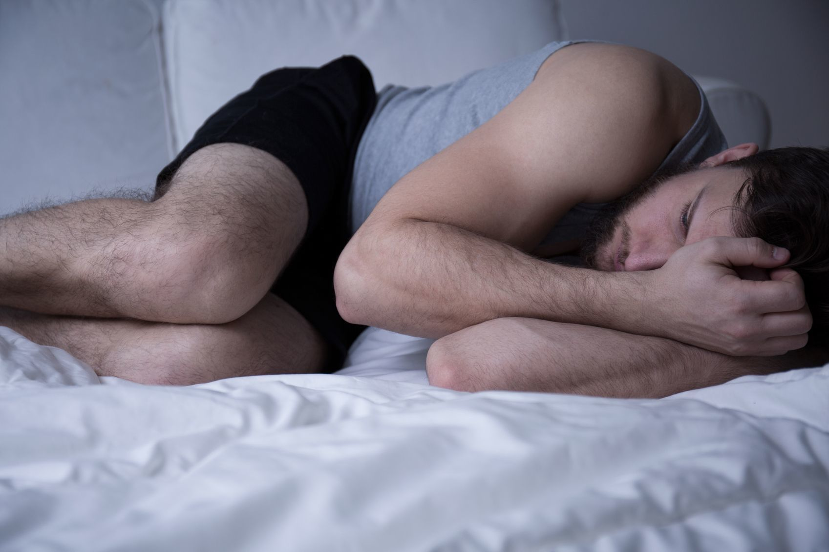 O字ハゲ(頭頂部ハゲ/つむじハゲ) 睡眠不足